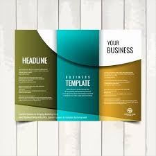 Free Tri Fold Brochure Templates Microsoft Word Gorgeous Free Blank Brochure Template Simple Writing Templates