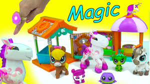 Animal Jam Toys Light Up Ring Animal Jam Magic Horse With Light Up Ring Littlest Pet Shop Horses Honeyheartsc Video