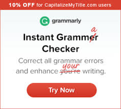 Free Apa Format Checker Title Capitalization Tool Capitalize My Title