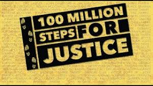 100M Steps for Justice | Charity Footprints