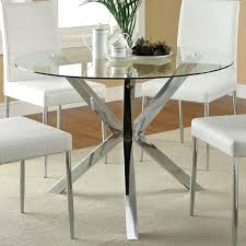 outstanding dining table glass top creative glass top dining table with metal base miramont round dining creative of round glass dining table with metal