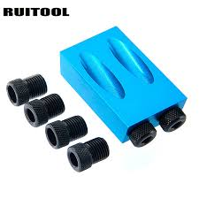 RUITOOL <b>Pocket Hole Jig</b> Kit 6/8/10mm Drive Adapter For ...