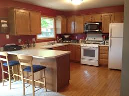 Honey Oak Kitchen Cabinets stained wood cabinets natural white paint cabinet colors wonderful 4894 by xevi.us