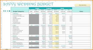 wedding budget excel template 4 wedding budget excel expense report