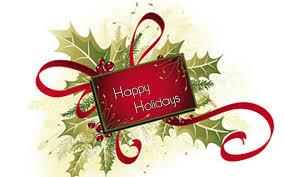 happy holidays christmas clipart