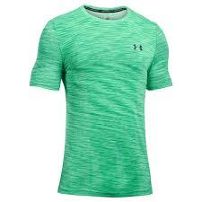 under armour t shirts. men\u0026#039;s threadborne seamless short sleeve green under armour t shirts m
