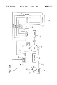 patent us6040555 remote control for welders and method therefor patent drawing
