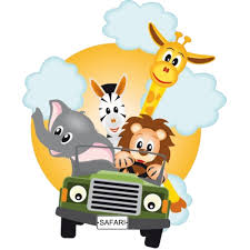 group of zoo animals clipart. Cartoon Group Animals Clipart In Of Zoo