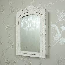 Ornate Bathroom Mirror Cabinets