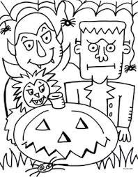 Small Picture Free pdf Halloween coloring page Welcome to jelenecom