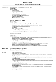 Psychiatric Nurse Resume Samples | Velvet Jobs