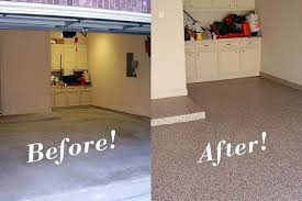garage floor paint before and after. Wonderful After Painting Concrete Floors Before And After Epoxy Basement Floor Paint Garage  Intended Paint And E
