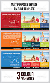 Tourism Banner Timeline Template By Graphicms | Graphicriver