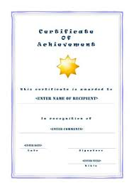 Templates For Certificates Of Completion Printable Certificates Achievement English Download Them Or Print