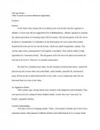 old age homes essays zoom