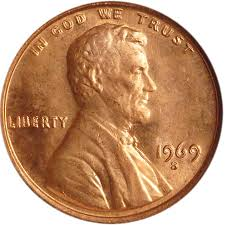 Lincoln Memorial Penny Values Chart 1969 S Doubled Die Obv 1c Ms Lincoln Cents Memorial Reverse