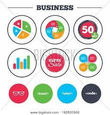Html Symbols Chart Business Pie Chart Vector Photo Free Trial Bigstock