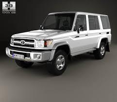 Toyota Land Cruiser 2007 3D model - Hum3D
