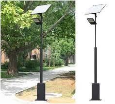 Amazoncom  Gama Sonic Prairie Solar LED Light Fixture PolePost Solar Pole Lighting