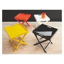 best small folding coffee table with oken black folding side table now at habitat uk