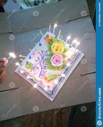 A Beautiful Birthday Cake Stock Photo Image Of Nice 130058282