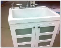 laundry sink vanity. Utility Sink In Bathroom Drain With Laundry Sinks Cabinets Ideas 4 Vanity Y
