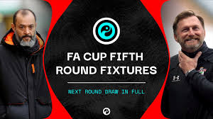 All fixtures premier league women's super league carabao cup fa cup championship league one league two bundesliga serie a la liga ligue 1. Fa Cup Fifth Round Draw Fixtures In Full For Next Stage Of Competition