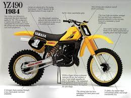 yamaha yz production history com yamaha yz490 1984