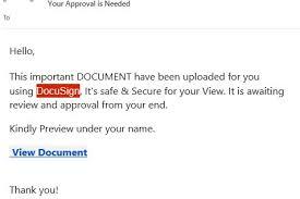 Phishing Emails Unihub