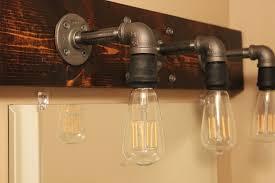 home decor bathroom lighting fixtures. Industrial Bathroom Light Fixtures Exciting Picture Exterior New In Home Decor Lighting M