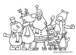 Coloriage Enfant Pour Noel