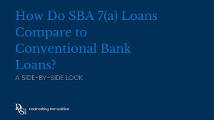 Compare Loans Side By Side Side By Side Look Sba Loans Versus Conventional Loans