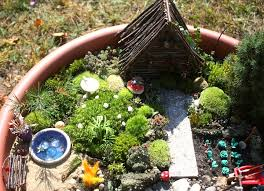 faerie garden. In Yesterdays Post I Talked About Making Our Garden Together, And Kaia\u0027s Large Part It. There Are Many Pictures Of The Process, Kaia Working On It, Faerie
