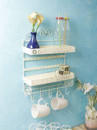 home sparkle metal wall shelf