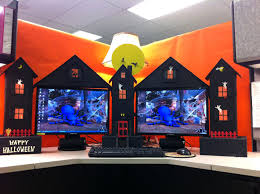 office halloween themes. Extraordinary Image Of Cubicle Decorations Elegant Office Bay Decoration Themes Independence Day Halloween T