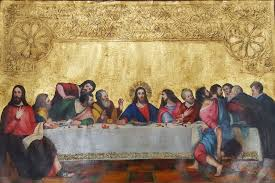 last supper painting for