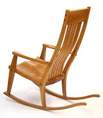 try the simple rocker project for an arts and crafts style