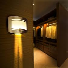 aliexpress com wireless infrared motion sensor led night light battery powered sensor led wall lamp wall path laundry stair sensor lamp from reliable