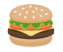 """Résultat de recherche d'images pour """"burger emoji"""""""