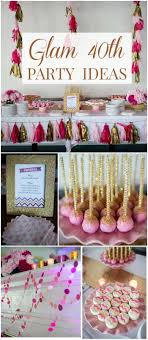 At 40 Party Decorations 17 Best Ideas About 40th Birthday Decorations On Pinterest 40th
