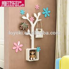Diy Wall Mounted Coat Rack Ecofriendly Tree Shape Diy Coat Clothes Rack Wooden Coat Hanger 70