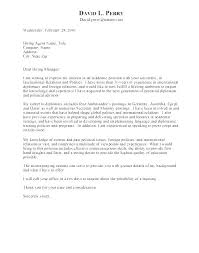 Example Of Resume Cover Letter For Job Example Of Covering Letter ...