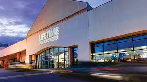 the exterior of the life time athletic club in fairfax va