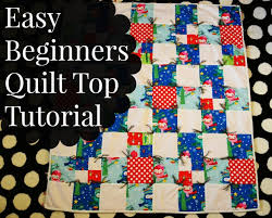 Easy Way To Make A Quilt - Best Accessories Home 2017 & Easy Ner Quilt Top Tutorial Mostly Simple Simon And Pany Adamdwight.com