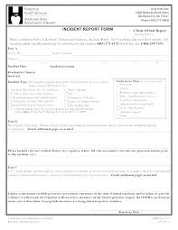 Safety Investigation Report Template