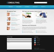 Free Website Templates Free Website Template For Consulting Business 14