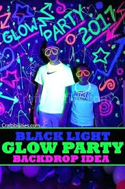 Rave Theme Party Glow Party Supplies Neon Rave Personalized 2 Leave Ideas Awesome And