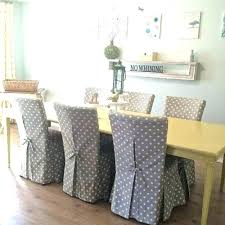 enjoyable plastic slipcovers for dining room chairs seat covers chair slip best