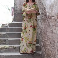 Linen Loose Dress Canada
