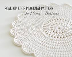 Free Crochet Placemat Patterns Stunning Decorate The Table With Crochet Placemats Cottageartcreations